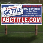 72x36 4mm corrugated plastic sign 1 sided