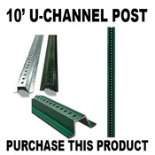 10ft Channel Post