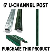 6ft Channel Post