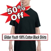 Black Youth Ts Up to 50% OFF