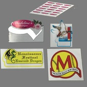 Custom Shaped Labels on a sheet (Decals)