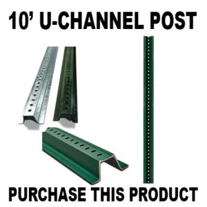 10ft Channel Post Thumbnail