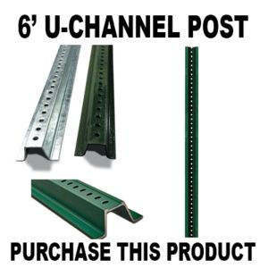 6ft Channel Post Thumbnail