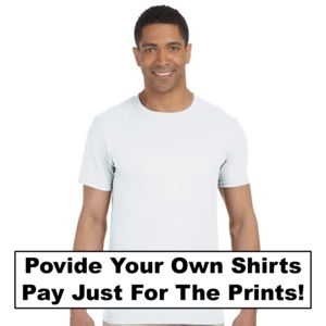 Provide your own Ts , Pay for only the Prints Thumbnail